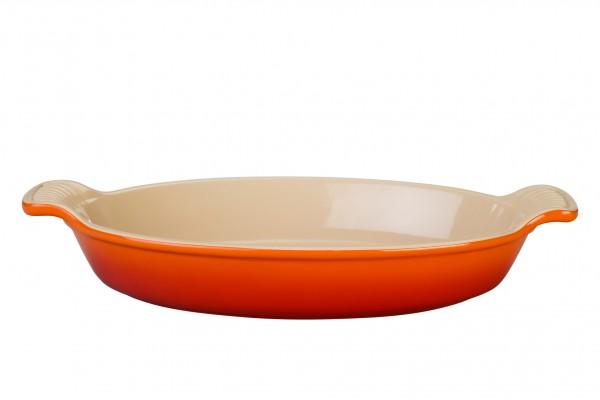 Le Creuset Auflaufform oval 36cm OFENROT
