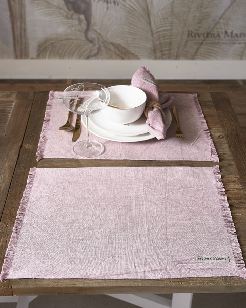 Rivièra Maison Set veiled rose Boho Basic RIVIERA MAISON 45 x 35