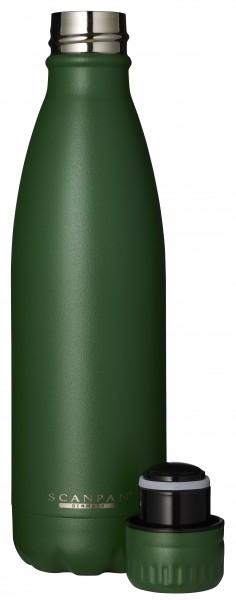 Scanpan Flasche 0,5L waldgrün TO GO
