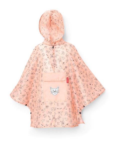 Mini Maxi Poncho M (rosa)