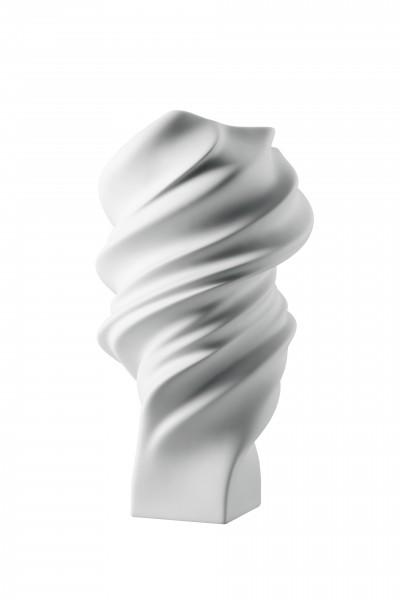 Rosenthal Vase 32cm weiß matt SQUALL