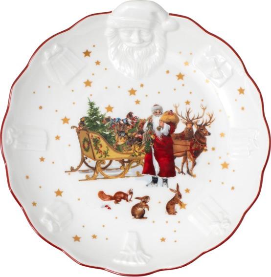 Villeroy & Boch Schale Santa Relief Nostalgie TOYS FANTASY
