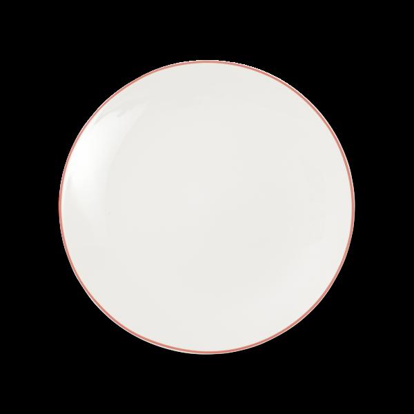 Dibbern Teller fl. 28cm rot SIMPLICITY