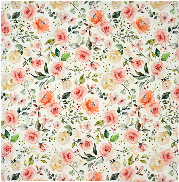 Sander Mitteldecke 85x85 dusty rose ROSEANNE