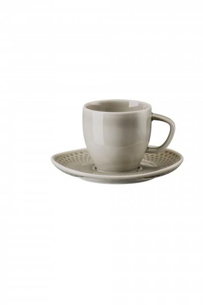 Rosenthal Espressotasse 2tlg. JUNTO PEARL GREY