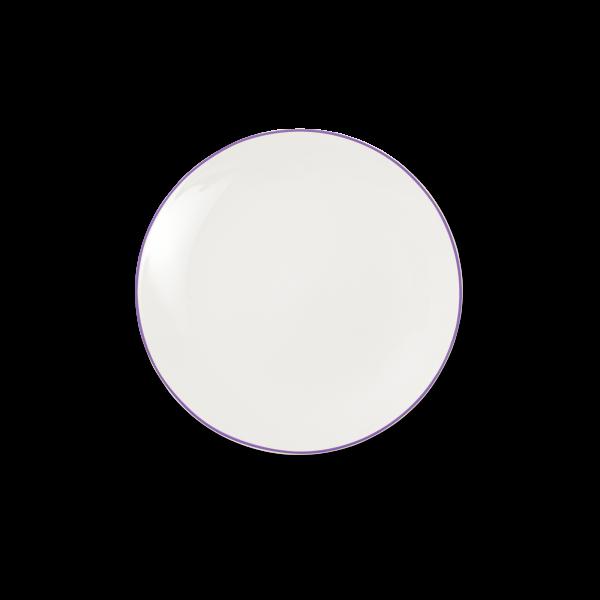 Dibbern Teller fl. 21cm violett SIMPLICITY