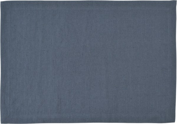 Sander Serviette 45x45 blue shadow LINNEN