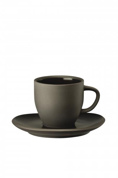 Rosenthal Kaffeetasse 2tlg. JUNTO SLATE GREY
