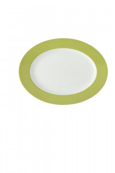 Thomas Platte oval 33cm SUNNY DAY AVOCADO GREEN