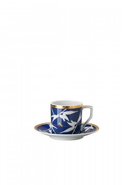 Rosenthal Espressotasse 2tlg. ROSENTHAL HERITAGE TURANDOT BLUE
