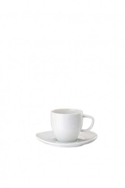 Rosenthal Espressotasse 2tlg. JUNTO WEISS