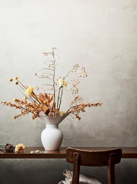 Rosenthal Vase 27 cm FALDA GOLD TITANISIERT