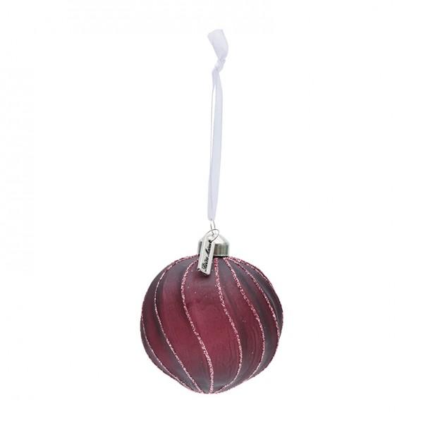 Rivièra Maison Ornament 8cm burgund Ballad Ma RIVIERA MAISON