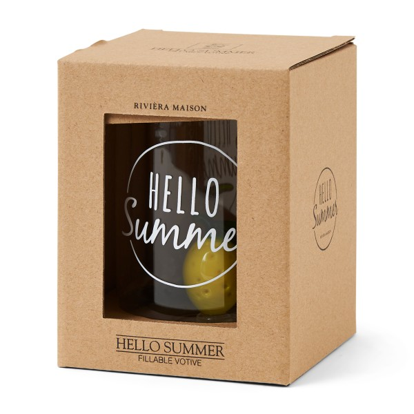 Rivièra Maison Votive Hello Summer Fillable