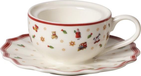 Villeroy & Boch Teelichthalter Kaffeetasse TOYS DEL. DEC.