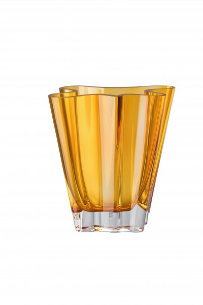 Rosenthal Vase 20cm FLUX AMBER