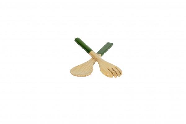 albert L. Salatbesteck 27,5 grasgrün BAMBUS ALBERT L