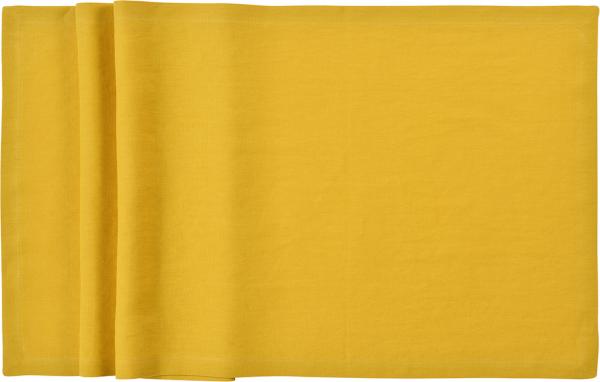 Sander Serviette 45x45 lemon LINNEN