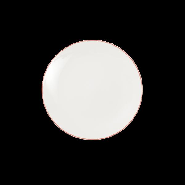 Dibbern Teller fl. 21cm rot SIMPLICITY