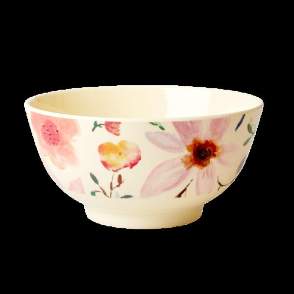 Rice Bowl 15cm Selmas Flower Print