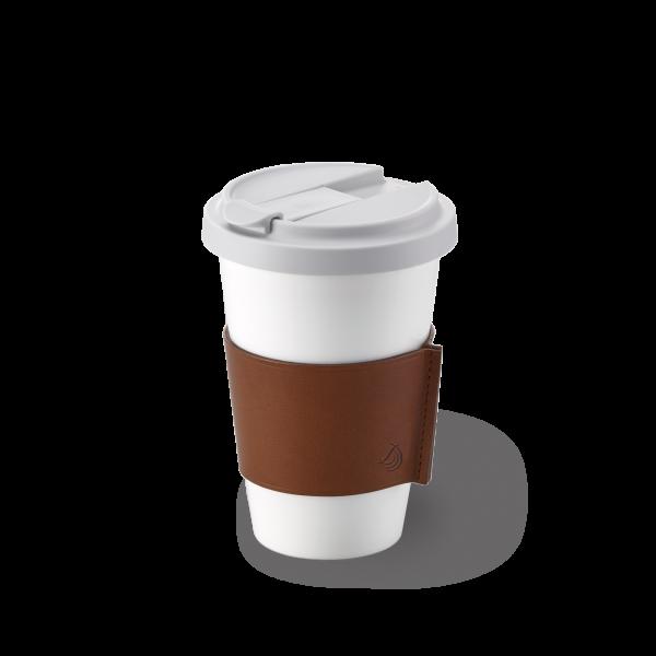 Dibbern Coffee to go Becher braun 0,35L