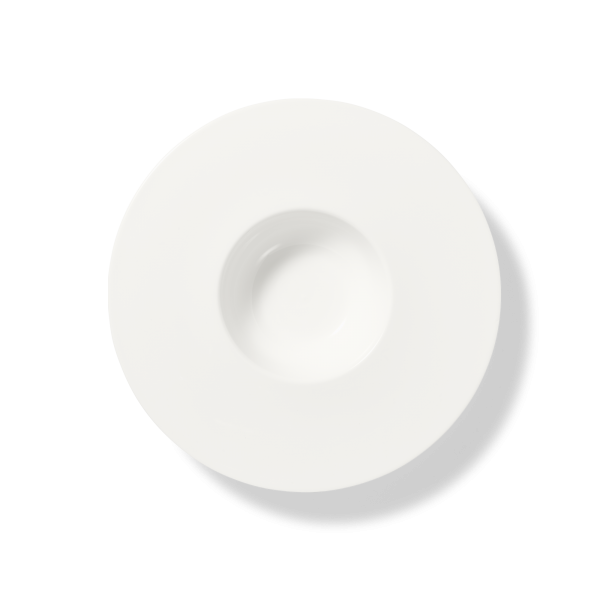 Dibbern Teller tief 26cm 0,25l breiter Rand BONE CHINA PURE