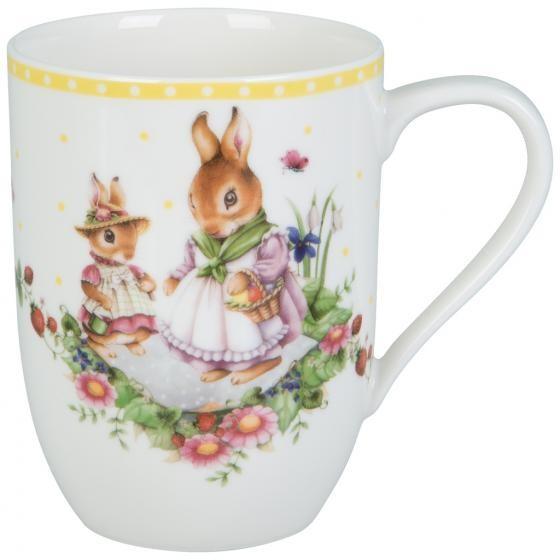 Villeroy & Boch Henkelbecher Bunny T. Fam.