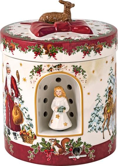 Villeroy & Boch Geschenkpaket groß rund Christkind CHRISTMAS TOYS