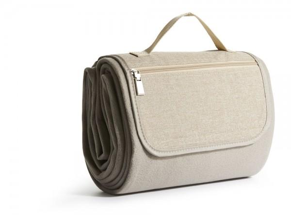 Sagaform Picknick Decke beige 130x170cm