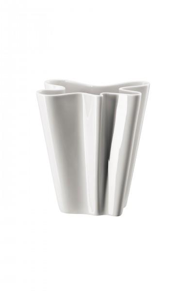 Rosenthal Vase 20cm FLUX WEISS