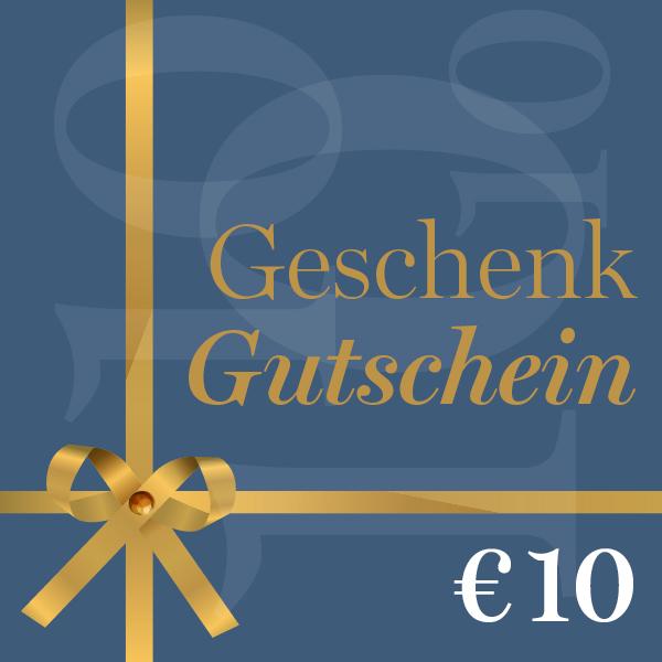 Geschenkgutschein €10