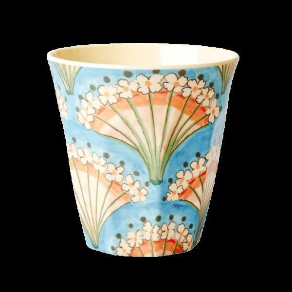 Rice Becher 9cm Flower Fan Print