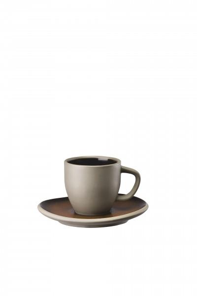 Rosenthal Espressotasse 2tlg. JUNTO BRONZE
