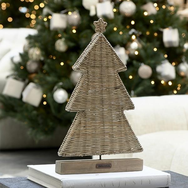 Rivièra Maison Christmas Tree flach RUSTIC RATTAN