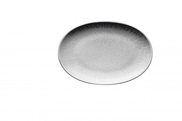 Rosenthal Platte 18cm TAC GROPIUS SKIN PLATIN