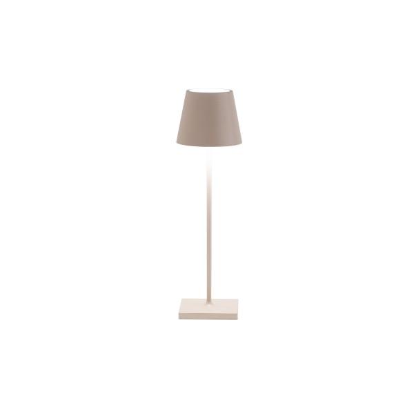 Zafferano Tischlampe sand 11,1x38cm POLDINA