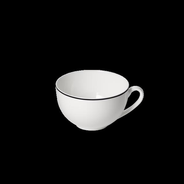 Dibbern Kaffee Obertasse 0,25L schwarz SIMPLICITY