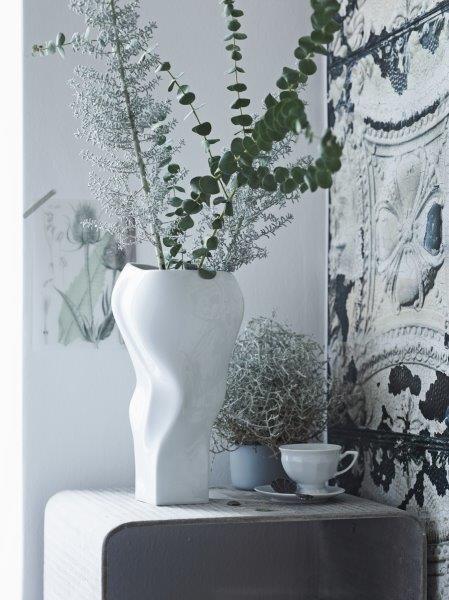 Rosenthal Vase 40cm BLOWN WEISS