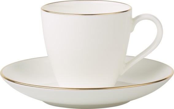 Villeroy & Boch Kaffeeobere 0,2L ANMUT GOLD