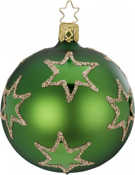 Inge's Christmas Decor Kugel 10cm Rising Star grün ma INGE'S CHRISTMAS