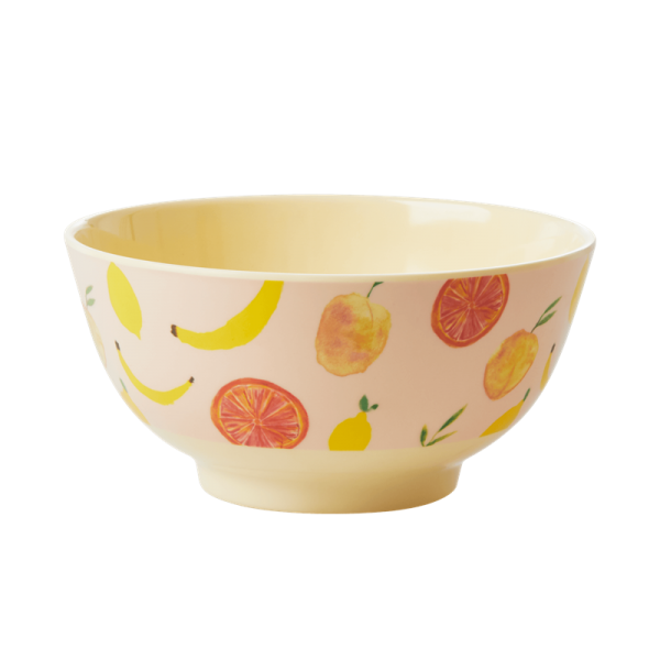 Rice Bowl 15cm Happy Fruits