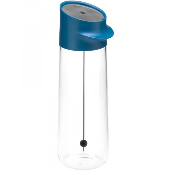 WMF Wasserkaraffe blau Nuro mit Fruchtspieß