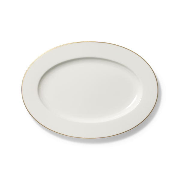 Dibbern Platte oval 34cm GOLDEN LANE