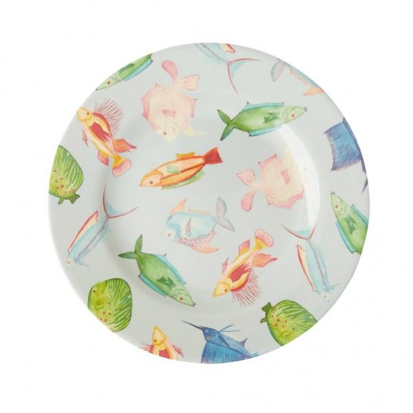 Rice Teller 20cm FISH PRINT