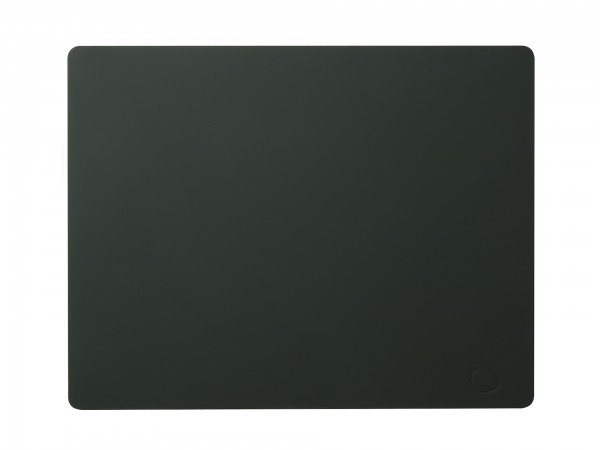 Tischset eck.35x45 grün.natur