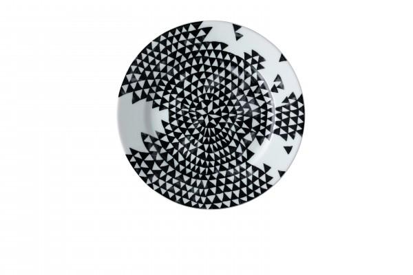 Rosenthal Teller flach 21cm MAGIC GARDEN BLACK SEEDS