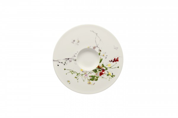 Rosenthal Tee-Cappuccino Untere Fleurs Sauvages