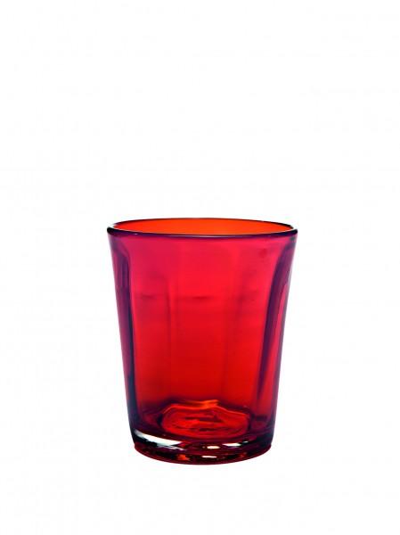 Zafferano Becher 32cl rot BEI