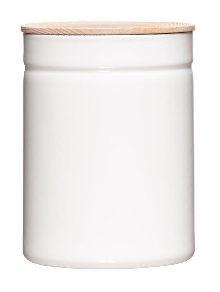 Riess Vorratsdose Höhe 18cm Durchmesser 13cm PURE WHITE