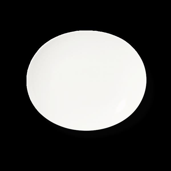 Dibbern Teller / Platte oval 28cm BONE CHINA MOTION